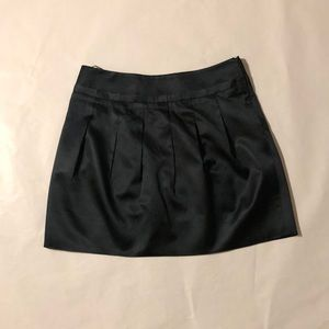 CASTLE STARR silk mini skirt